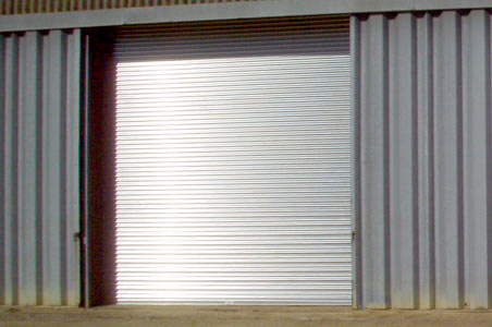 industrial roller garage doors