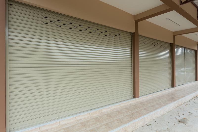 business roller shutters
